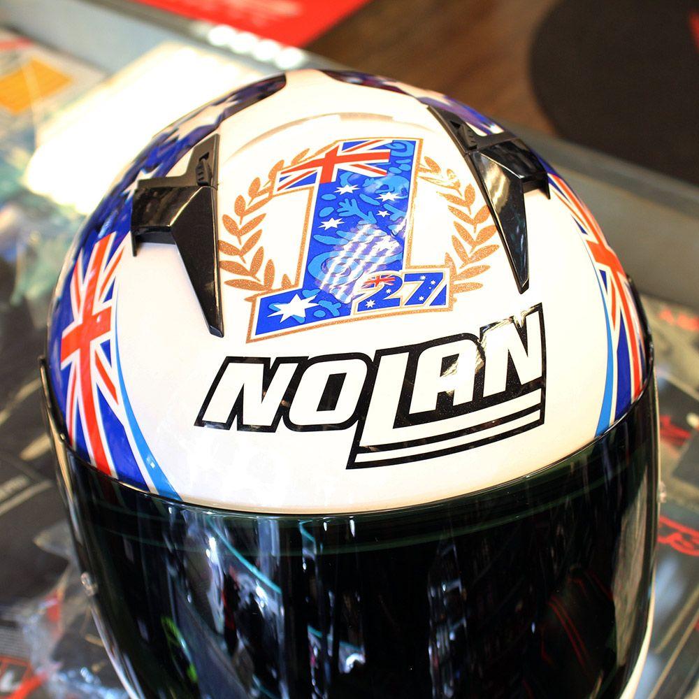 Capacete Nolan N64 Réplica Stoner Tribute   - Planet Bike Shop Moto Acessórios