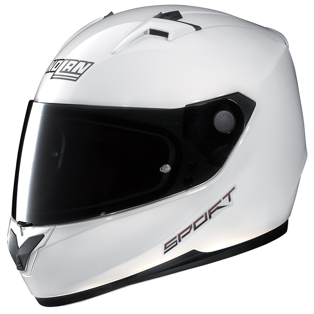 Capacete Nolan N64 Sport White - Ganhe Balaclava Exclusiva! - Mês do Motociclista