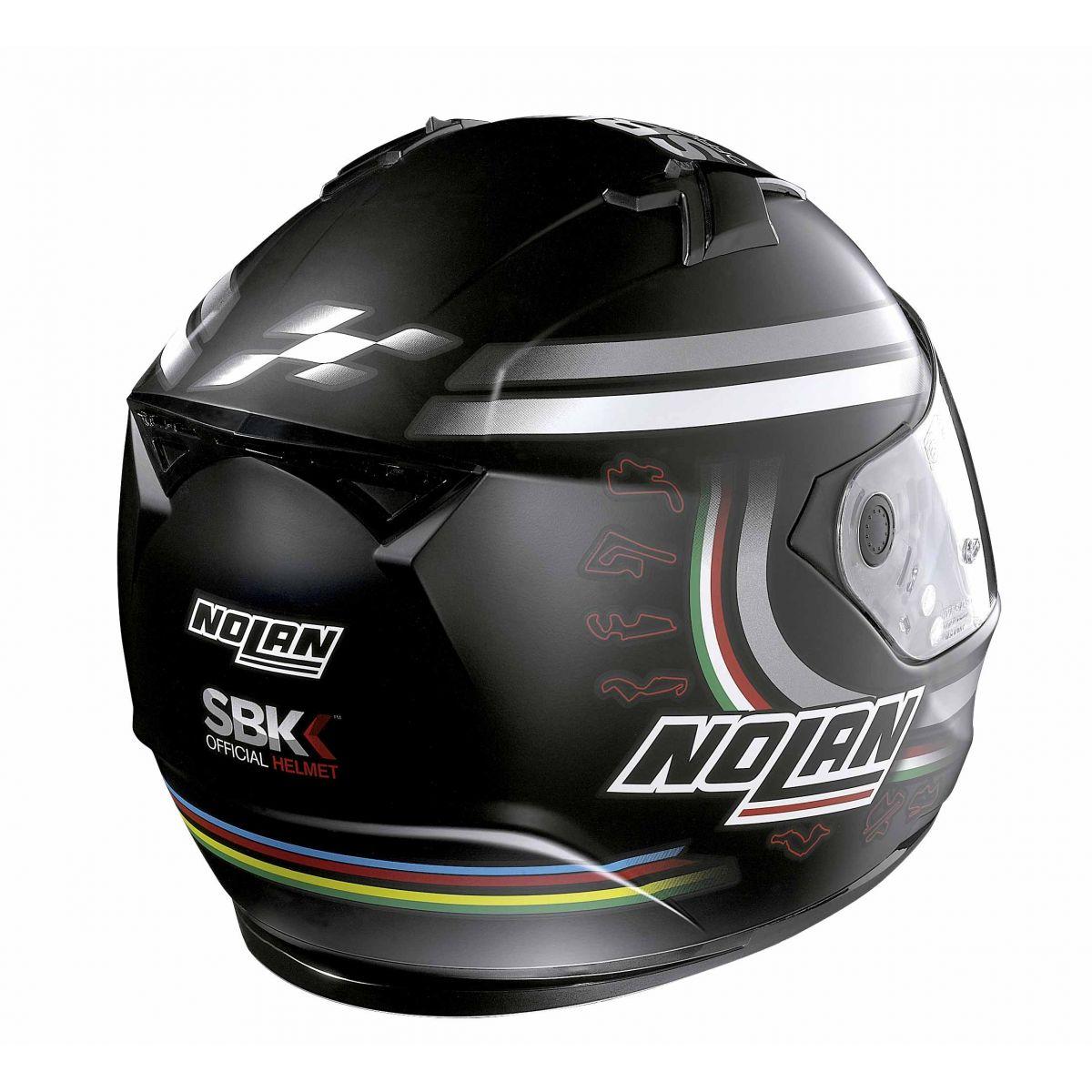 Capacete Nolan N64 Superbike SBK Flat Black - Ganhe Balaclava Exclusiva!  - Planet Bike Shop Moto Acessórios