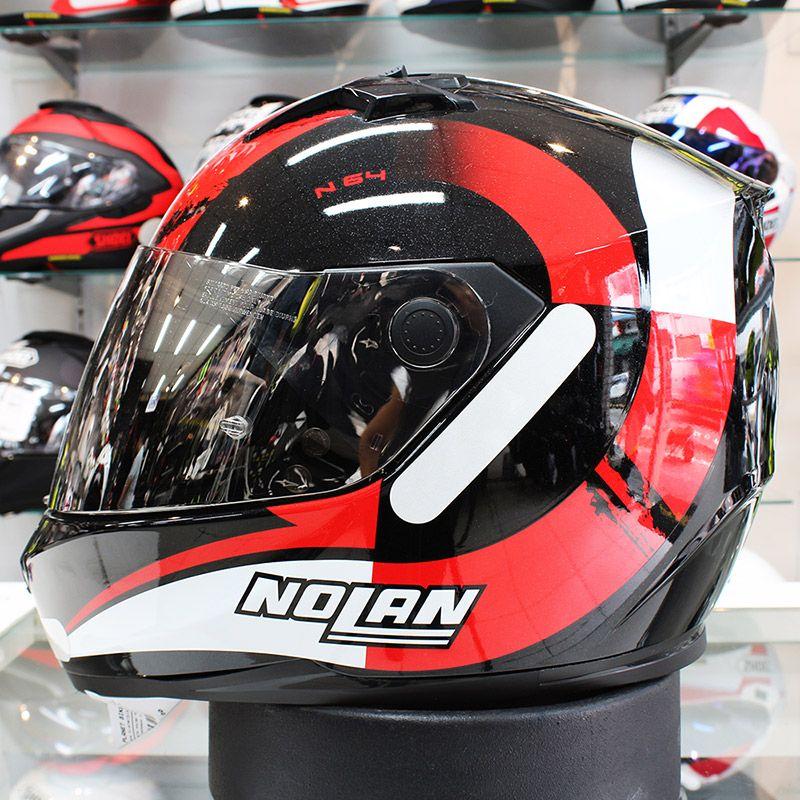 Capacete Nolan N64 Twirl Red