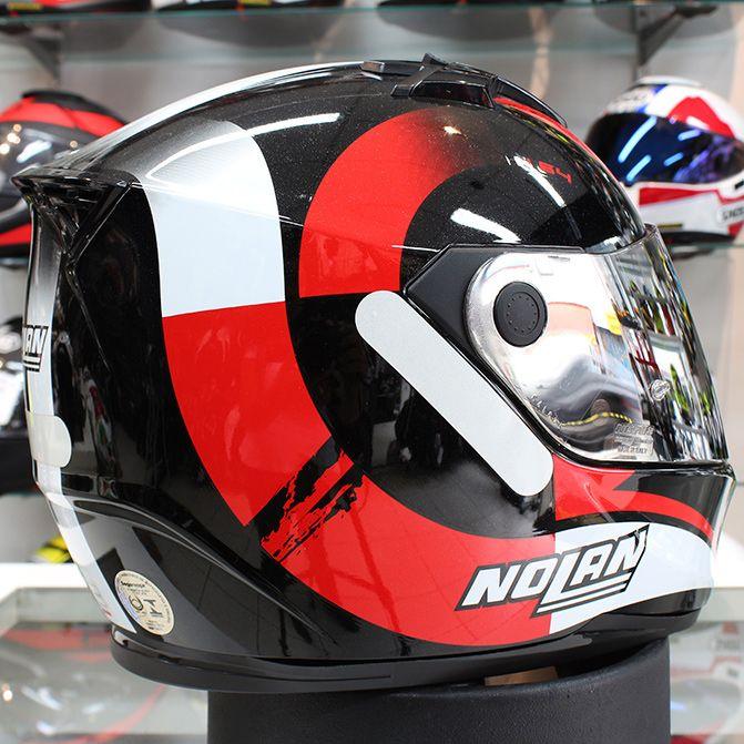 Capacete Nolan N64 Twirl Red   - Planet Bike Shop Moto Acessórios