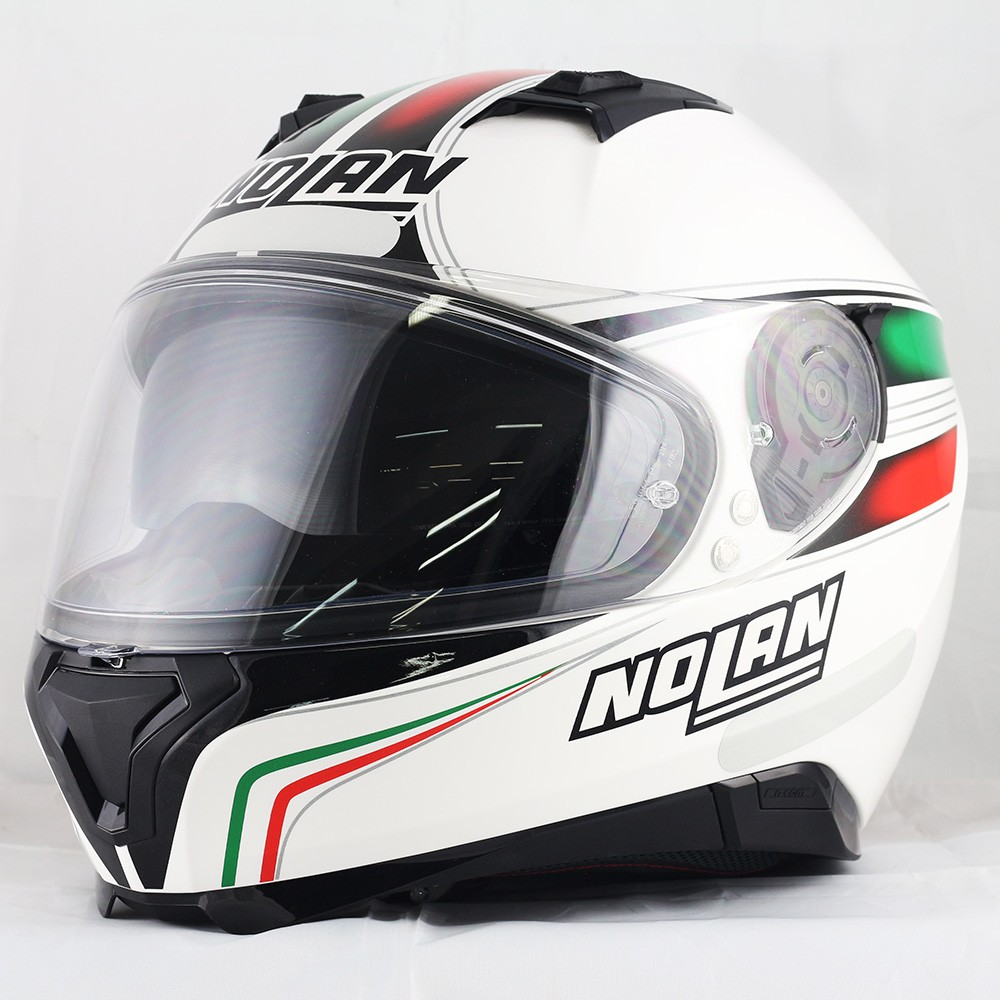 Capacete Nolan N87 Italy Metal Com Viseira Solar (COM VÍDEO) - Ganhe Balaclava Exclusiva!