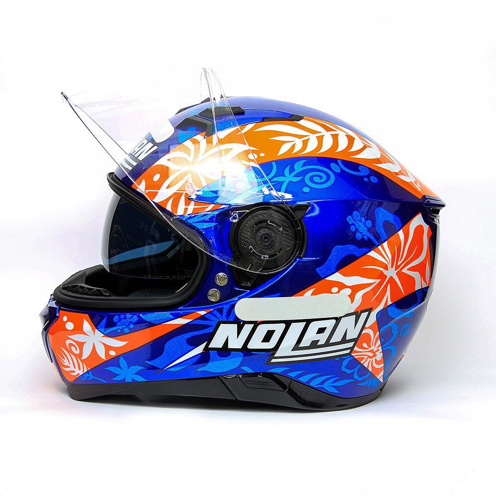 Capacete Nolan N87 Petrucci Oficial Com Viseira Interna - Lançamento!