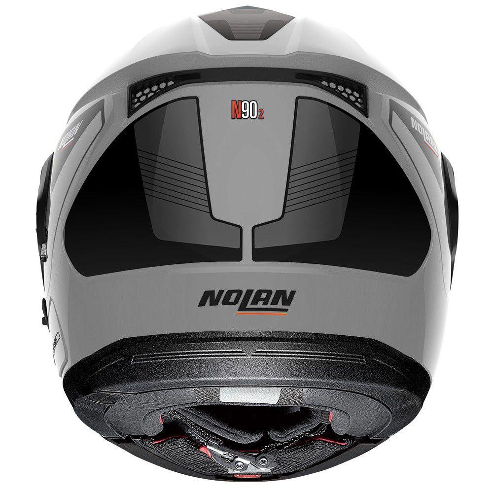 Capacete Nolan N90-2 Straton - Preto - Escamoteável C  Viseira Solar Interna  - Planet Bike Shop Moto Acessórios e8c58e0f32