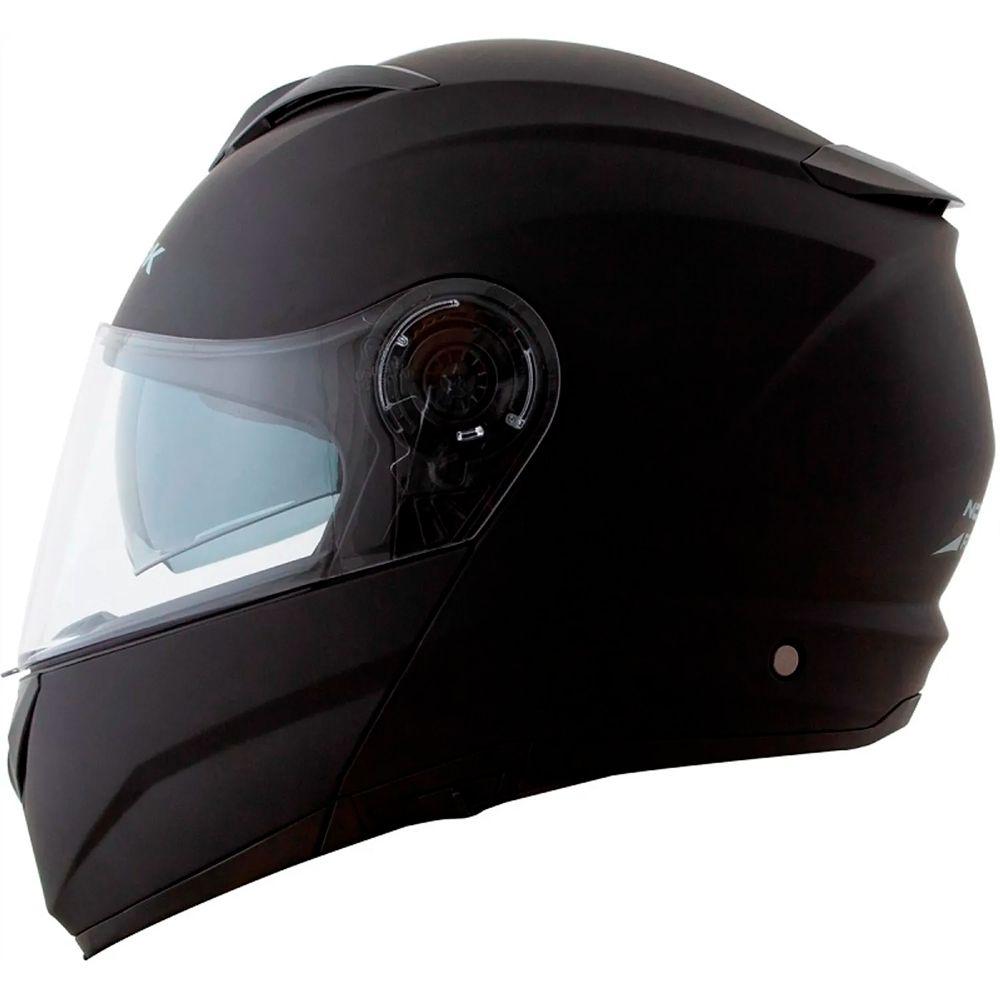 ec3a0f6330c06 Capacete Norisk Force Preto Fosco - 58 - Planet Bike Shop Moto Acessórios