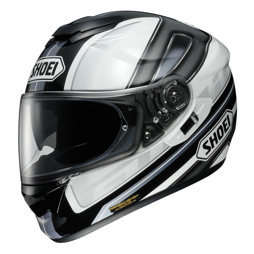 Capacete Shoei GT-AIR Dauntless TC-6 com Pinlok e Viseira Solar