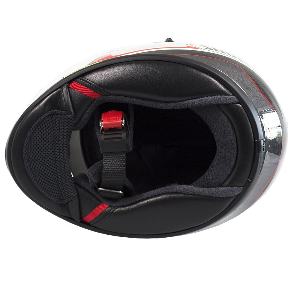 Capacete Shoei GT-Air Pendulum TC-6 com Pinlok e Viseira Solar   - Planet Bike Shop Moto Acessórios