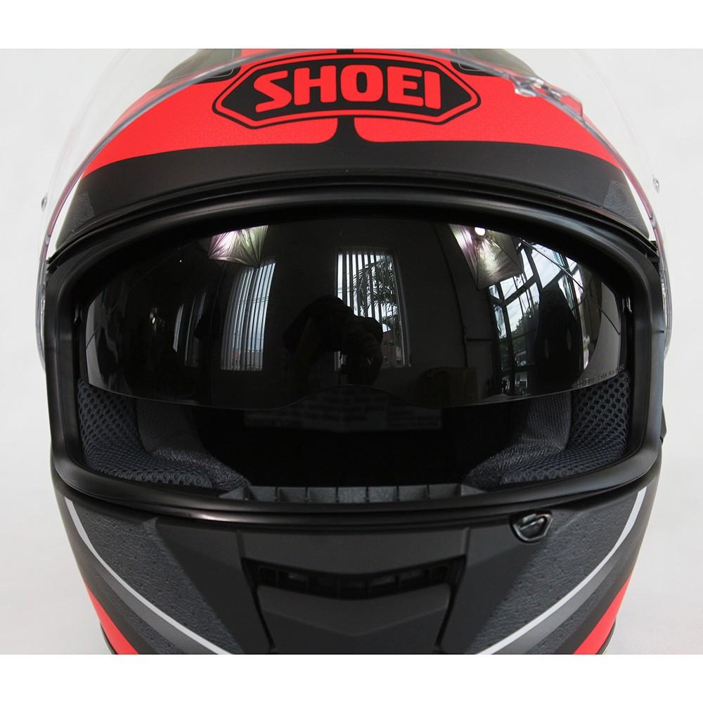 CAPACETE SHOEI GT-AIR SWAYER TC-1 com Pinlok e Viseira Solar   - Planet Bike Shop Moto Acessórios