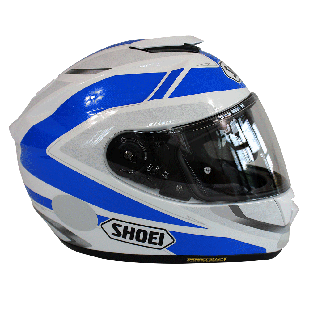 Capacete Shoei GT-Air Swayer TC-2 com Pinlok e Viseira Solar  - Planet Bike Shop Moto Acessórios