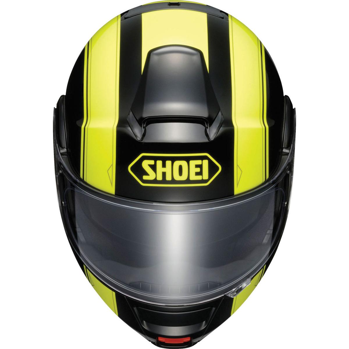 Capacete SHOEI Neotec Borealis TC-3 Amarelo (escamoteável)  - Planet Bike Shop Moto Acessórios