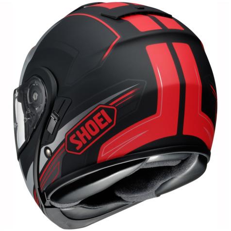 Capacete SHOEI Neotec Imminent TC-1 Vermelho Fosco   - Planet Bike Shop Moto Acessórios