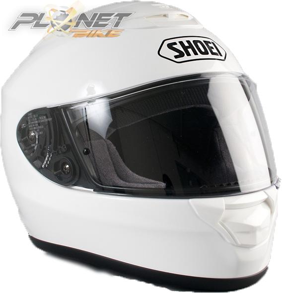 Capacete Shoei Qwest Branco  - Planet Bike Shop Moto Acessórios