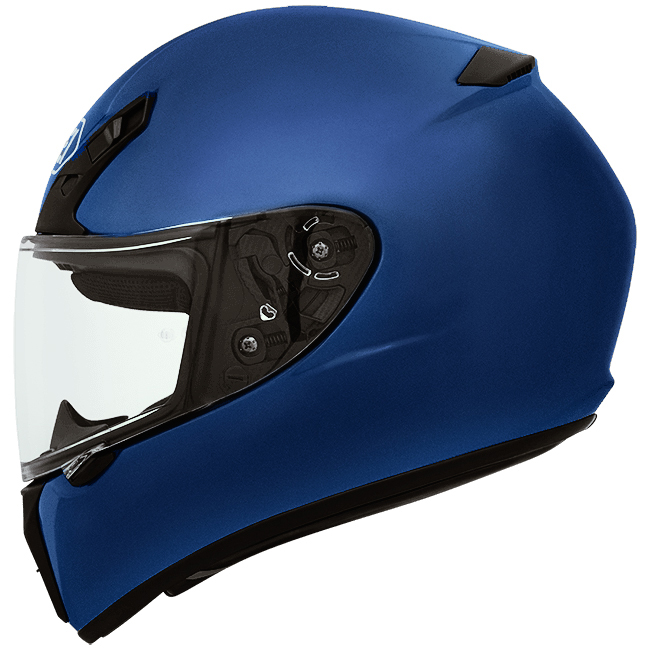 Capacete Shoei Ryd Blue Matt Com Pinlock Anti-Embaçante - NOVO!