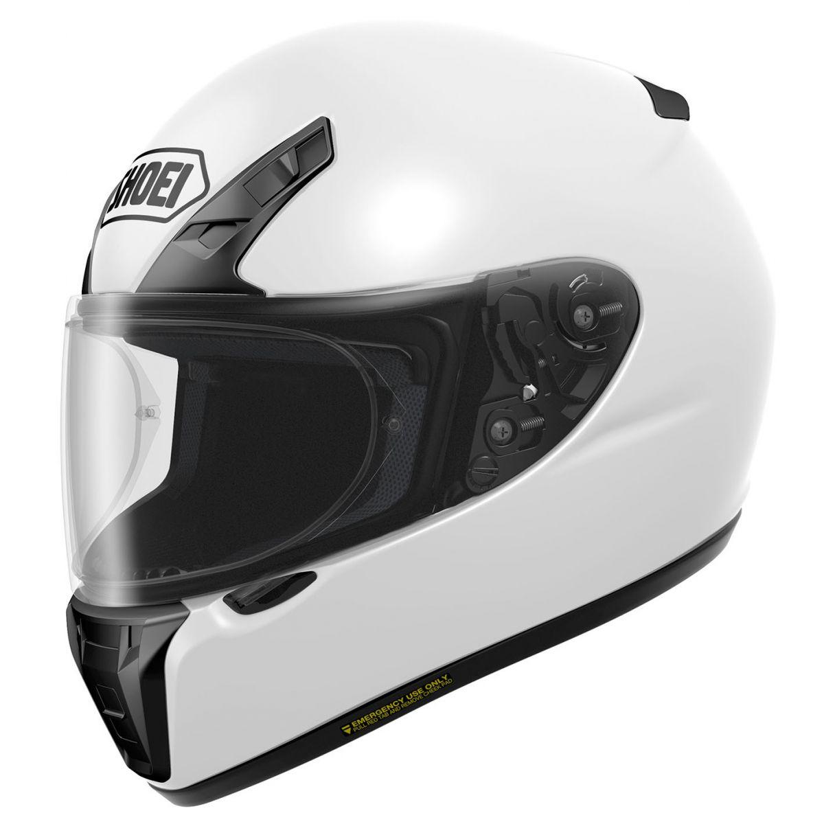 Capacete Shoei Ryd Branco Com Pinlock Anti-Embaçante   - Planet Bike Shop Moto Acessórios