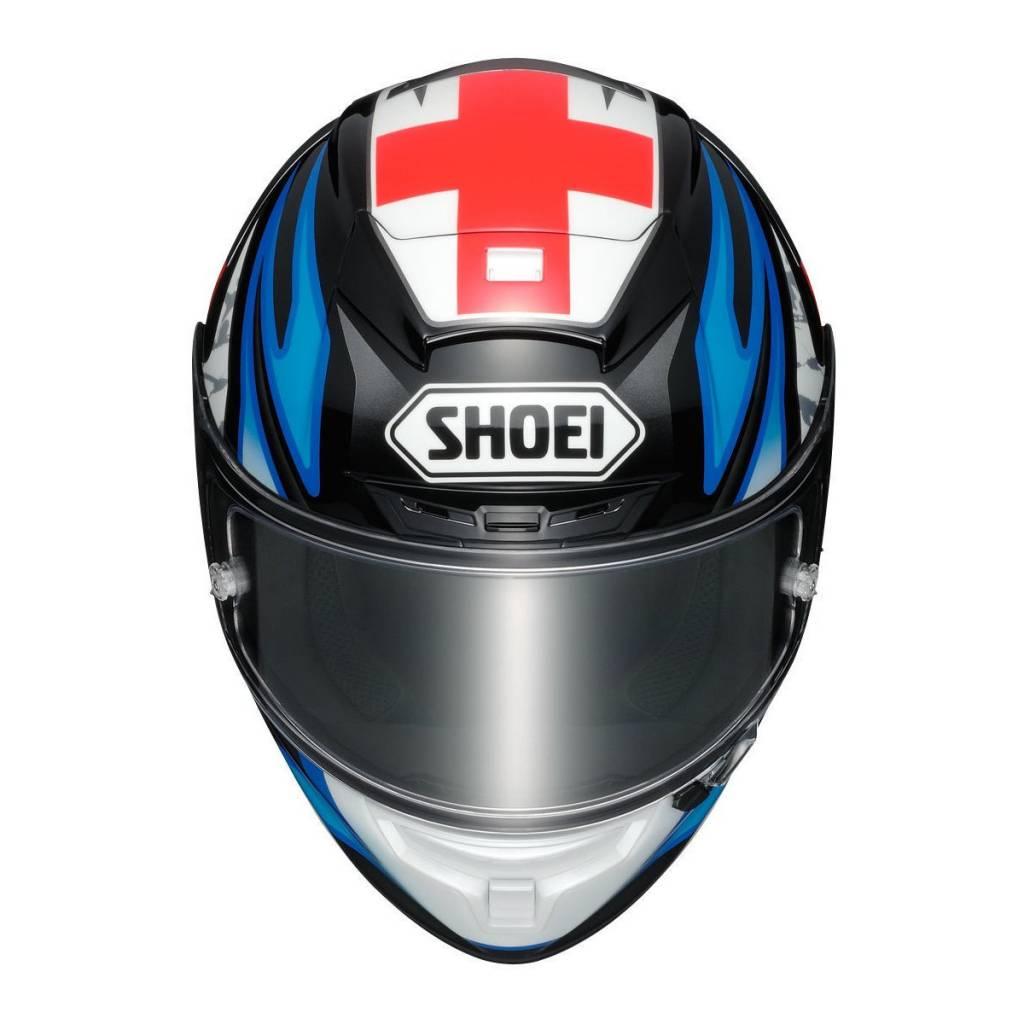 Capacete Shoei X-Spirit 3 -Bradley3 TC-1  - Planet Bike Shop Moto Acessórios