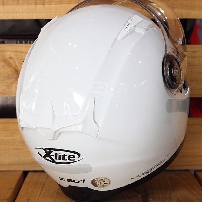 Capacete X-Lite X-661 Start White - Ganhe Balaclava Exclusiva   - Planet Bike Shop Moto Acessórios