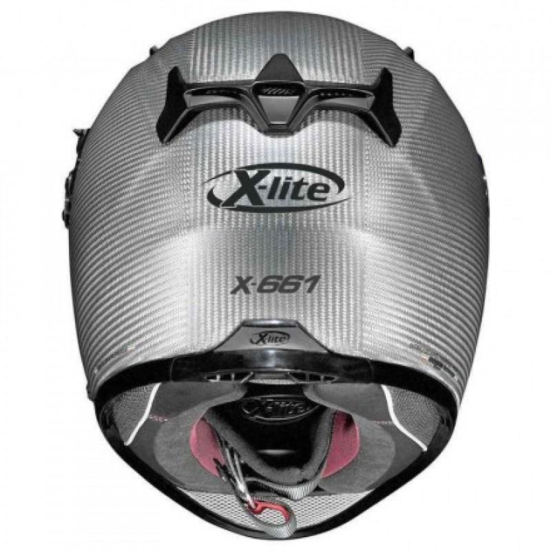 Capacete X-Lite X-661 Extreme Titan-Tech Puro Flat Titanium - Ganhe Balaclava Exclusiva!  - Planet Bike Shop Moto Acessórios