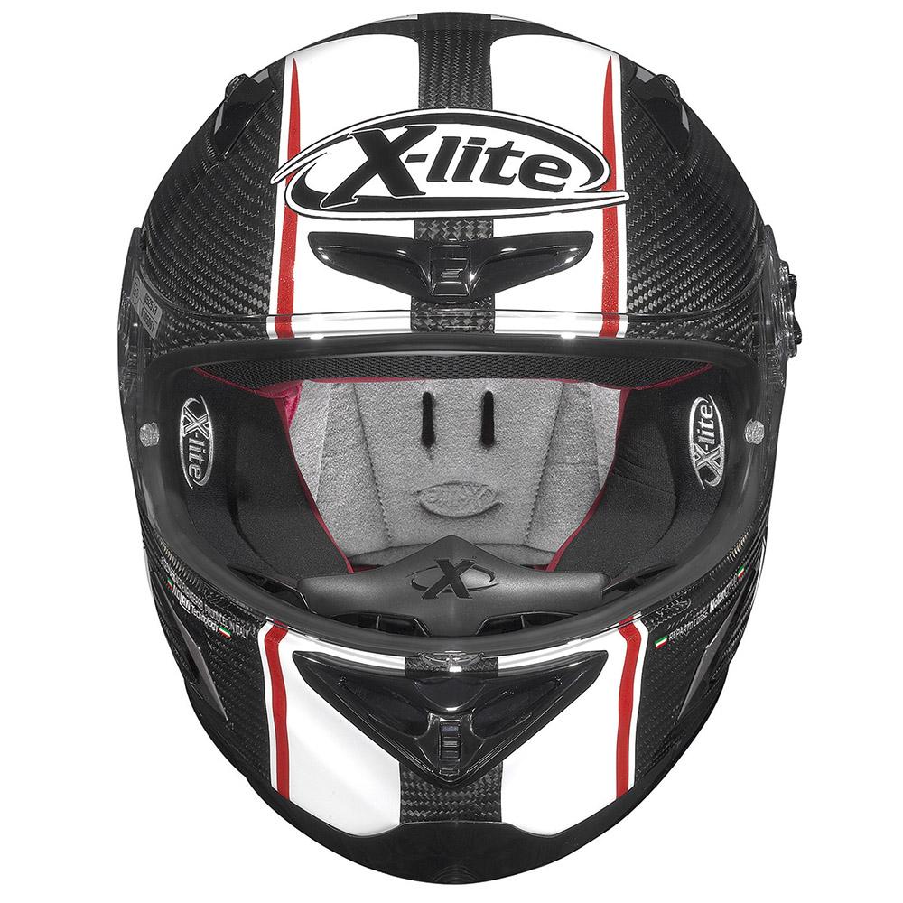 Capacete X-Lite X-802RR Ultra Carbon MOTOGP   - Planet Bike Shop Moto Acessórios