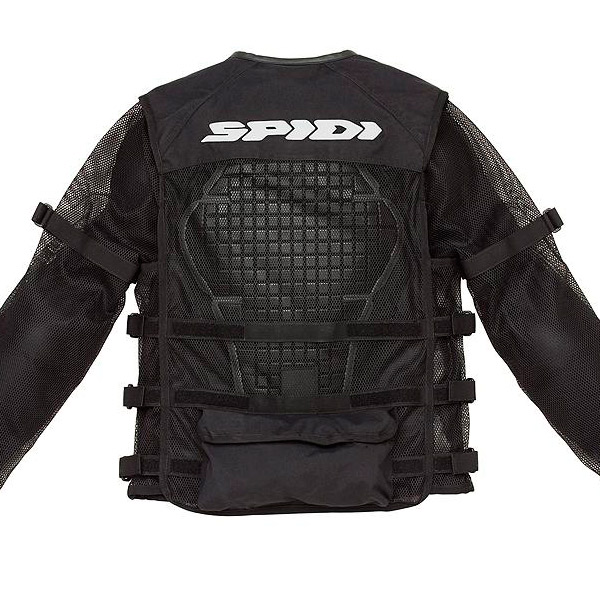 Colete Protetor Completo Spidi Multitech Armor  - Planet Bike Shop Moto Acessórios