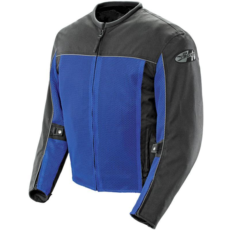 Jaqueta Joe Rocket Velocity Azul - Ventilada e Impermeável - Mês do Motociclista