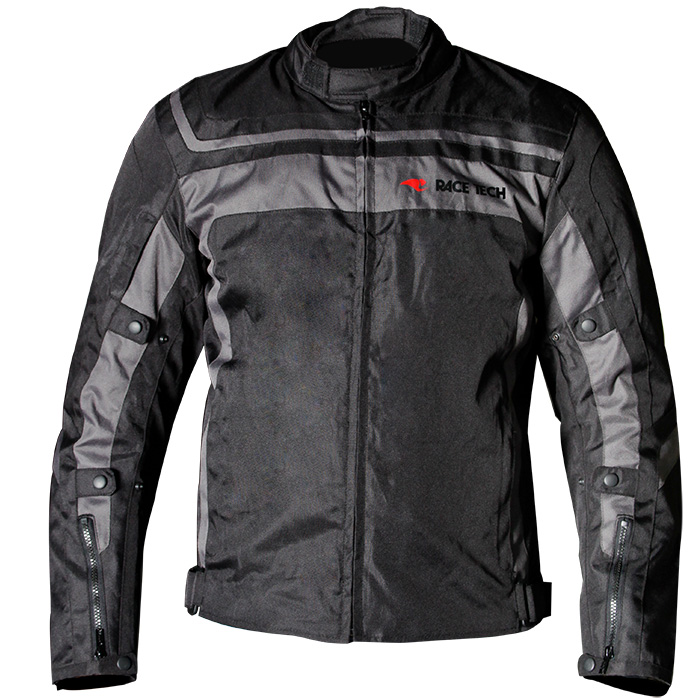 Jaqueta Race Tech Imola Black / Black (Oferta)  - Planet Bike Shop Moto Acessórios