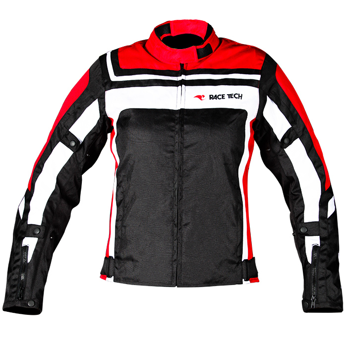 Jaqueta Race Tech Imola Lady Black / Red / White