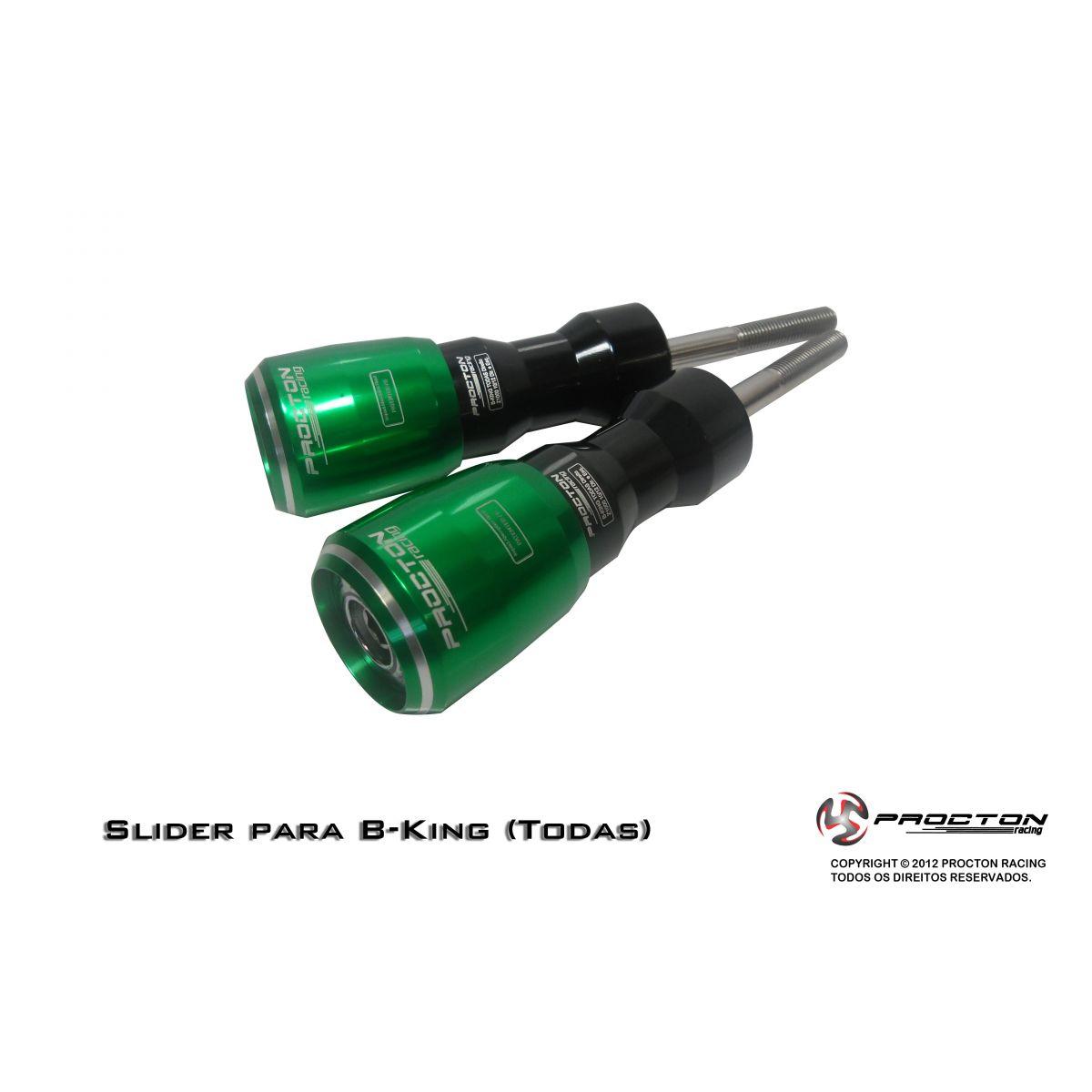 Slider Procton com Amortecimento Suzuki Bking - Todas
