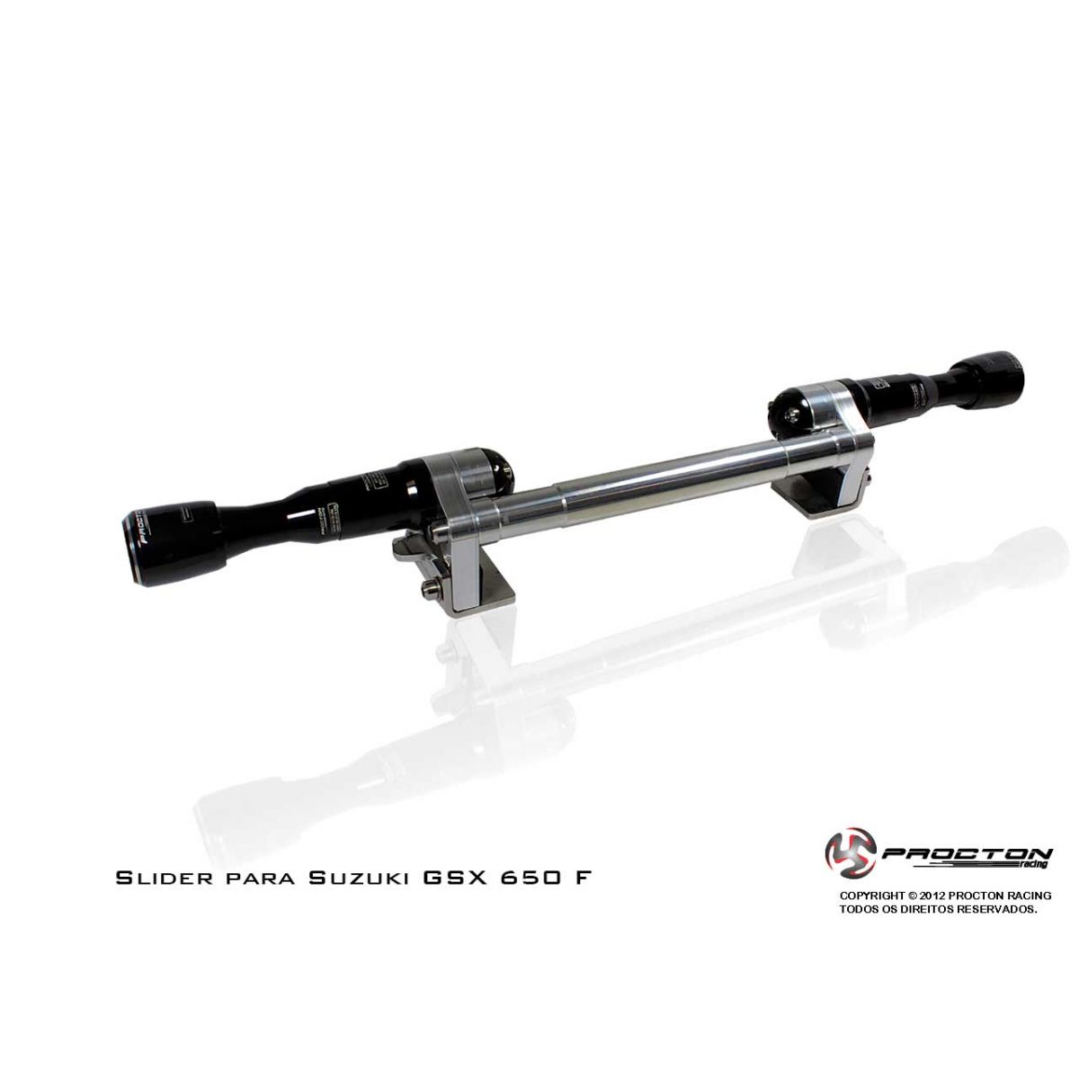 Slider Procton com Amortecimento Suzuki GSX 650F - 09/15