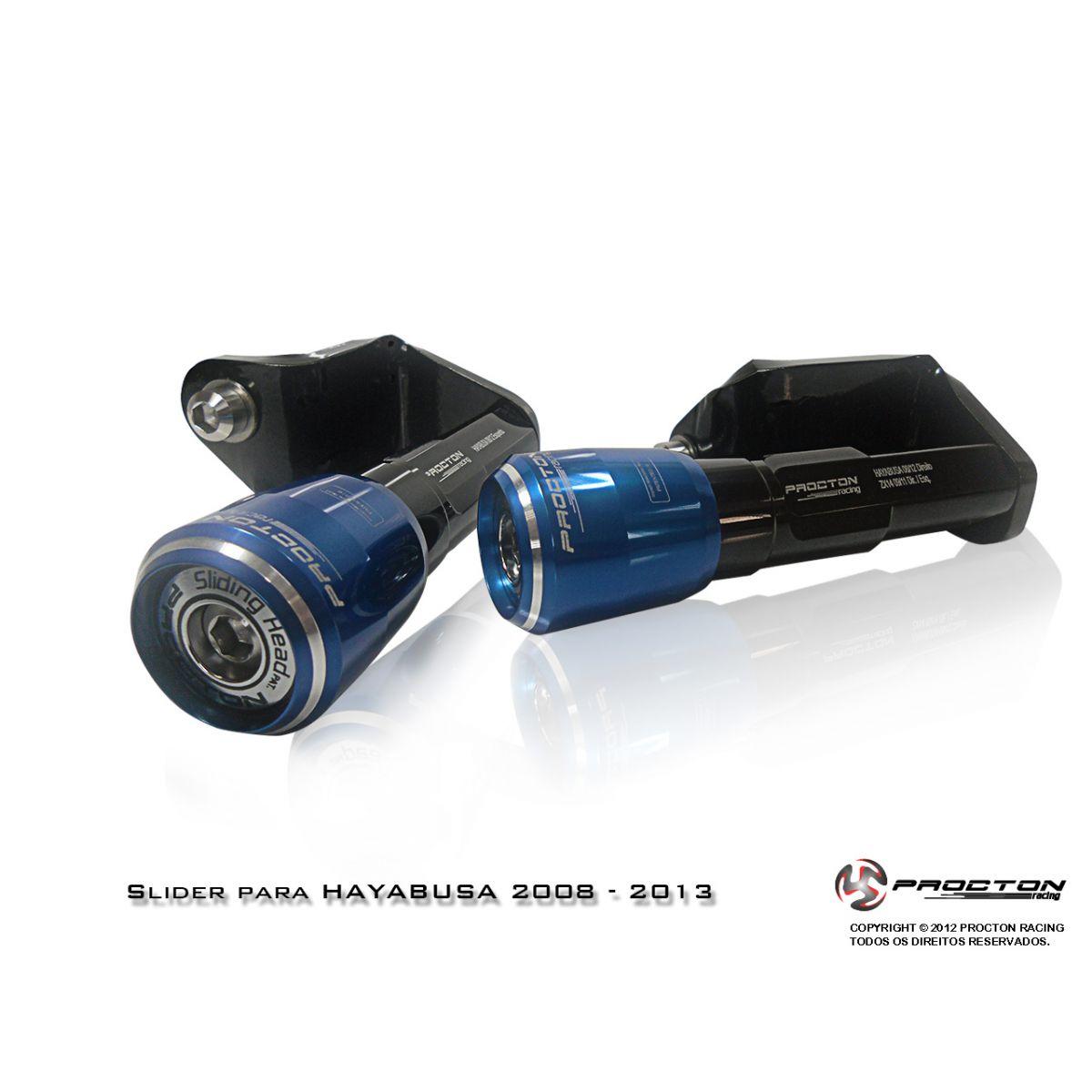 Slider Procton com Amortecimento Suzuki Hayabusa - 08/16