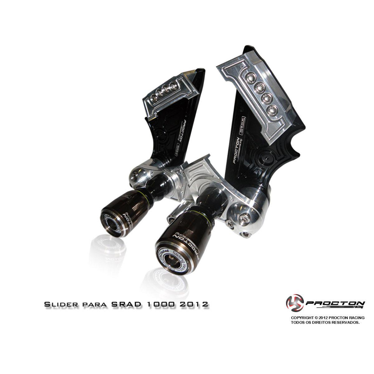 Slider Procton com Amortecimento Suzuki Srad1000 - 11/17