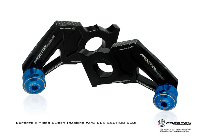 Slider Procton Traseiro (Honda) CBR650F