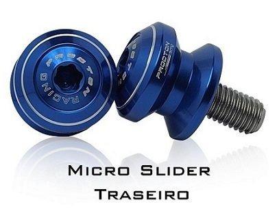 Slider de Balança/Traseiro Micro Procton para Honda / BMW / Suzuki / Triumph / KTM  - Planet Bike Shop Moto Acessórios