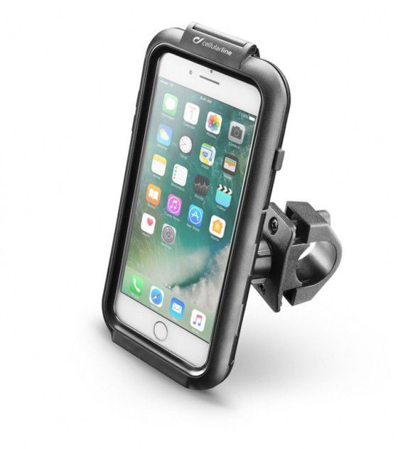 Suporte para Celular iPhone 7 e 8 Interphone para motos