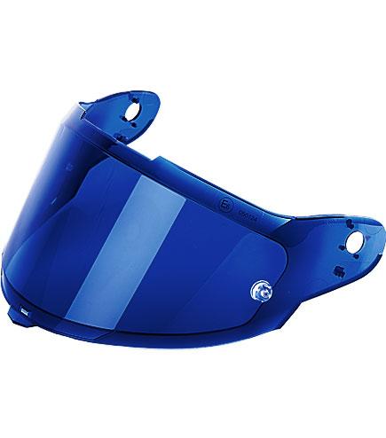 Viseira Nexx XR2 Espelhadas Azul  - Planet Bike Shop Moto Acessórios