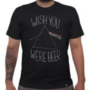 Camiseta Wish You Were Beer - El Cabriton