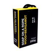 Sabonete na Corda Wood+Bergamot 250g - MAN LAB