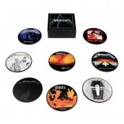 Jogo de porta-copos (bolachas) Metallica