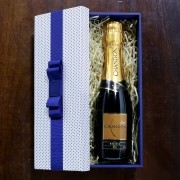 Kit Para Padrinhos Baby Chandon Réserve Brut 187ml (Modelo 2)