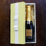 Kit Para Padrinhos Baby Chandon Réserve Brut 187ml (Modelo 3)