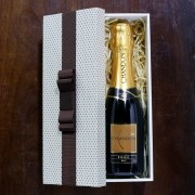 Kit Para Padrinhos Baby Chandon Réserve Brut 187ml (Modelo 4)