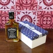 Kit Para Padrinhos Jack Daniel's 200ml (Modelo 6)
