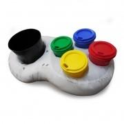 Super Almofada Porta-Pipoca e Copos Controle Video Game - Kathavento