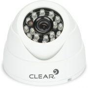 Camera Mini Dome IR 25M 3,6MM 1.0MP AHD-24L Branca Clear