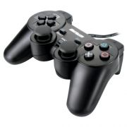 Controle com Fio para PC USB JS030 Preto Multilaser