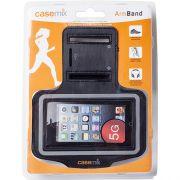 Braçadeira Iphone 5 Case Mix Preto