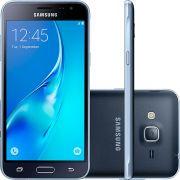 Smartphone Samsung Galaxy J3 Dual Chip Desbloqueado Android 5.1 Tela 5'' 8GB 4G Wi-Fi Câmera 8MP - Preto