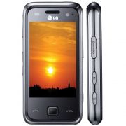 Celular  LG GM750 C/ Câmera 5.0MP, Touch Screen, MP3, WI-FI, Bluetooth Estéreo e Cartão de 2GB