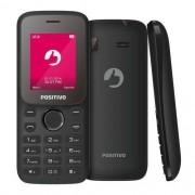 Foto 4 - Celular Positivo P25 Preto, Dual CHIP, Bluetooth, 32MB, Tela 1.8, Câmera VGA