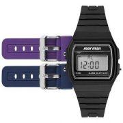 Kit Relógio Feminino Digital Mormaii MOJH02AH/8P