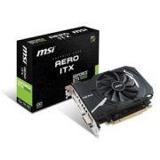 Placa de Video MSI Geforce GTX 1050 Aero ITX 2G OC DDR5 - Geforce GTX 1050 Aero ITX 2G OC